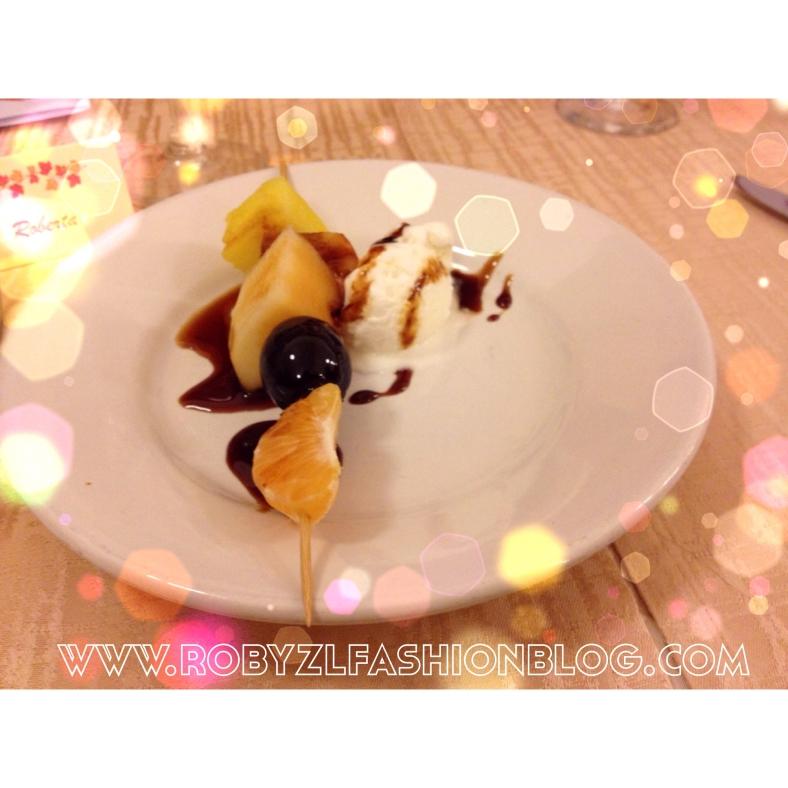 dessert, frutta, fruit dessert
